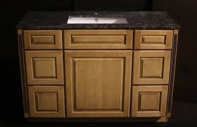 Kraftmaid Bathroom Vanity Cabinets by Kraftmaid Maple Bathroom Vanity Sink Cabinet 48