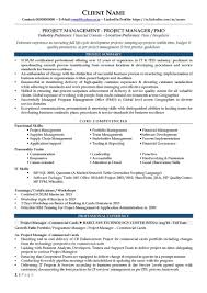 resume core competencies examples sample pmo resume free resume example and writing download pmo profile financial domain page 1