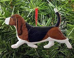 basset hound vw ornament