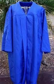 jostens graduation gowns medium royal blue graduation gown costume choir robe jostens matte