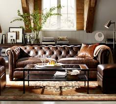 Brown Leather Couch Interior Design Ideas 10 Ideas To Decor Home With Capitone Patterns Design Residence Style