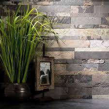 Aspect BacksplashStone Tile In Medley Slate - Backsplash stone tile