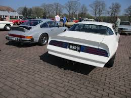 Pictures Of The New Pontiac Firebird Car Show Outtakes 1974 Porsche 911s Sportomatic And 1976 Pontiac