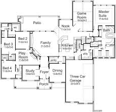 house plans one best 25 one level house plans ideas on four bedroom
