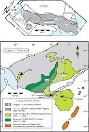Adirondack Mountains Map Shawinigan Arc Magmatism In The Adirondack Lowlands As A