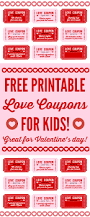 free printable love coupons for kids on valentine s day free free printable love coupons for kids on valentine s day this is a great way to