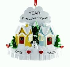 personalised ornament for neighbours personalised