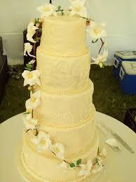 iris and olive u0027s cakes blog orchid wedding cake