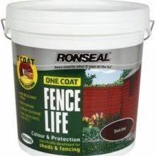 ronseal one coat fencelife 5 litre 2 50 at morrisons instore