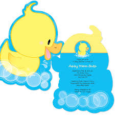 duck baby shower invitations ducky duck shaped baby shower invitations bigdotofhappiness