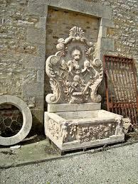 fontaine en pierre naturelle fontaine en travertin