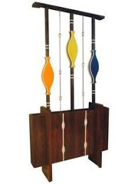 another stand shelf lamp divider mid century room dividers