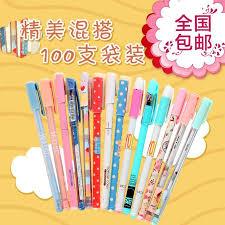 wholesale stationery lot scm korea creative company stationery gel pen mix 0 35 0 38 0 5