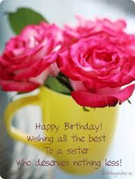 Happy Birthday Wishes To Big Happy Birthday Big Sister Birthday Wishes Pinterest Happy