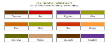 6 perfect fall wedding colors ideas wedding invitations