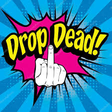 drop ded pop comics drop dead â image vectorielle gal amar â 94442756