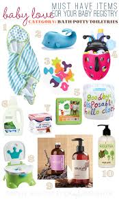 top baby registry ka s list of must baby registry recommendations bath potty