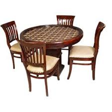 4 Seater Dining Table And Chairs Induscraft Brass Fitted 4 Seater Dining Table Set Dining Table