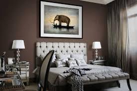 Schlafzimmer Schwarzes Bett Welche Wandfarbe Die Farbe Braun Liegt Voll Im Trend Beim Einrichten