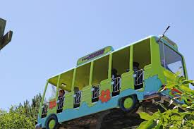 Buses To Six Flags Nj Scooby Doo U0027s Mystery Machine Six Flags Great America