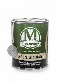 Outdoorsman Home Decor Mandle 15 Oz Paint Can Candles By Eco Candle Co