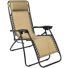 Folding Outdoor Chair Zero Gravity Chairs Tan Lounge Patio Chairs Folding Outdoor Yard