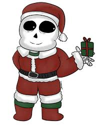 undertale sans wishes merry christmas gift by torivic on