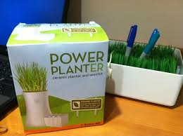 awesomely green office supplies decorate my cubicle redditgifts