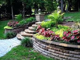 Landscaping Ideas For Sloped Backyard Sloped Backyard Design Pictures Remodel Decor And Ideas Sloped