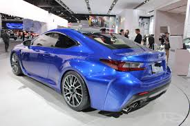 lexus rcf blue lexus rc f breaks cover at naias 2014