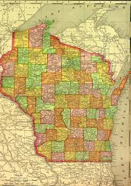 State Of Wisconsin Map by Marathon County Wisconsin Maps U0026 Gazetters Collection