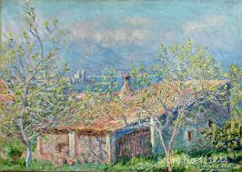 Painting Of House by Online Get Cheap Monet House Aliexpress Com Alibaba Group