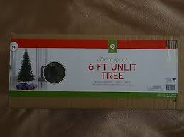 spruce artificial tree 6 ft foot unlit new