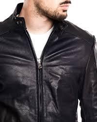 blue motorcycle jacket men u0027s clothing dark blue leather jacket nohow x mdv nowhow