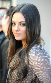 the sexiest famous girls who wear glasses black rims mila kunis