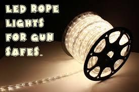 is led light safe let there be light efficient led lighting for gun safes daily