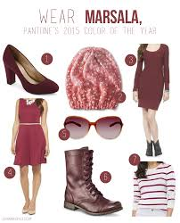 how to use the 2015 color of the year marsala eureka crystal