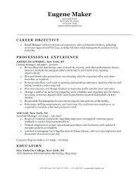 Fashion Retail Resume Examples Sample Resume For Retail Position Sample Targeted At Fashion