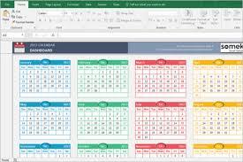 excel calendar templates free u0026 premium creative template