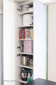 ikea kitchen cabinet sliding doors customizing our ikea pax dining room cabinet the wood