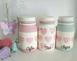 pink canisters kitchen jar kitchen canisters tea coffee and sugar jars kitchen
