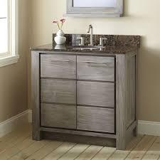 36 bathroom cabinet 36 venica teak vanity for undermount sink gray wash bathroom