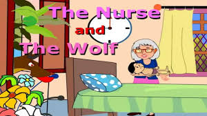the nurse and the wolf short story for kids youtube