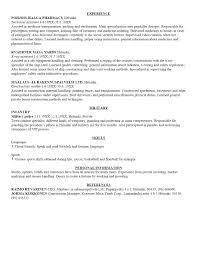 Easy Resumes Easy Resume Outline Resume Cv Cover Letter