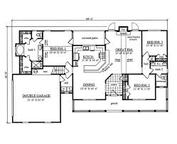 country style house plan 3 beds 2 00 baths 1684 sq ft plan 42 409