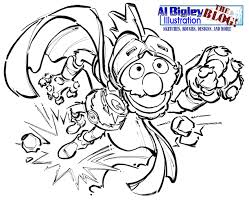 grover sesame street coloring pages pictures to pin on pinterest