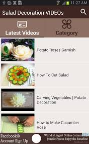 Vegetable Decoration Videos Salad Decoration Videos Android Apps On Google Play