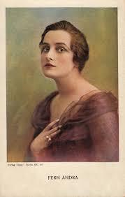 Theodosia Bartow Prevost by Fern Andra Vamp Silent Actress 1910 U0027s 20 U0027s Postcard She Started