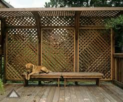 Lattice Patio Ideas by Deck Privacy Screen Backyard Pinterest Deck Privacy Screens