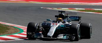 mercedes barcelona one lewis hamilton claims victory in barcelona
